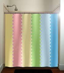 pink and yellow shower curtain shower curtain monogram flowers