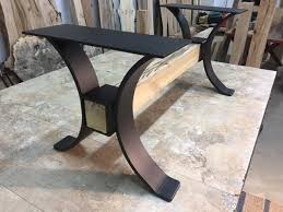 dining tables trestle table bases rustic counter height 131 best metal table legs images on pinterest dining room dining