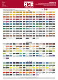 hmg paints ltd resource article ral colour chart ral 1000 to