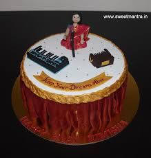 singing birthday delivery indian classical theme customized designer fondant cake for