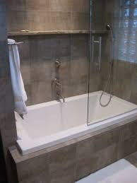 bathroom tubs and showers ideas wonderful small tub shower combo with glass door completed and