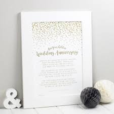 50th wedding anniversary poems golden wedding anniversary poem print bespoke verse