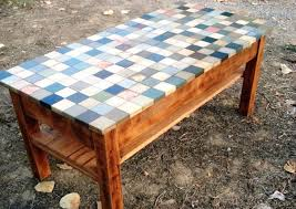 Tiled Patio Table Patio Tile Table Outdoor Goods