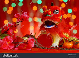 festival decorations chinese new year festival decorations miniature stock photo