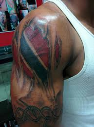 Two Flag Tattoos Tattoo Awesome Eagle With Usa Man Right Half Sleeve Awesome Flag