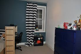 Black And White Striped Bedroom Curtains Bedroom Gorgeous Blue And Black Bedroom Decoration Using Black And