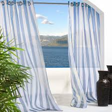 Sunbrella Curtains With Grommets by Outdoor Decor Gazebo Grommet Outdoor Curtain Panel Hayneedle