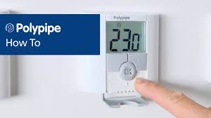 polypipe underfloor heating controls pairing dial and digital