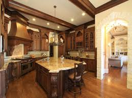 traditional white kitchen design black wood island furniture