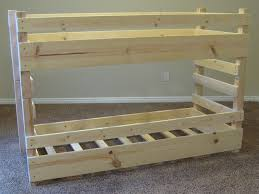 Plans For Bunk Bed With Trundle by Trundle Bed For Boys Foter Pleasing Bunk Beds For Kids Plans