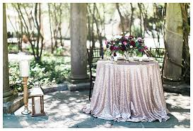 Wedding Table Linens Romantic Blush And Burgundy Wedding Inspiration Love Inc