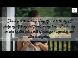 Romantic Marriage Quotes Romantic Wedding Vows For Him That Will Make You Cry 2 Special