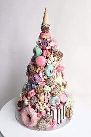 wedding cake alternatives this wedding cake combines our favorite unicorn desserts in 1