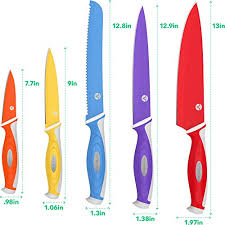 colored kitchen knives vremi 10 colorful knife set 5 kitchen knives with 5 import