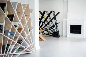 4 Sided Bookshelf Cheft Bookcase By Studio Pousti Design Maryam Pousti