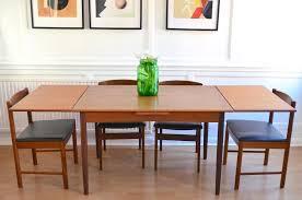 vintage danish extending teak table and 4 mcintosh chairs