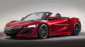 lexus lfa vs honda nsx honda nsx convertible gets rendered forcegt com
