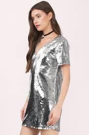 silver new years dresses silver dress open back dress pewter sequin dress shift dress