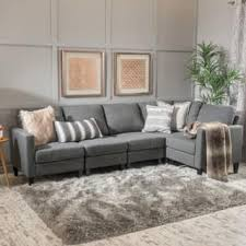 Overstock Sectional Sofas Light Grey Sectional Sofa Thedailygraff