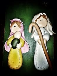 nacimiento en masa flexible pesebres pinterest clay crafts