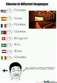 Different Languages Meme - cinema in different languages by likeabossnt meme center