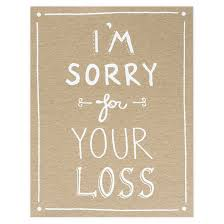 sympathy card the paper cub i m sorry for your loss sympathy card greerchicago