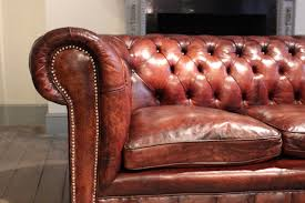 Leather Chesterfield Sofa by Circa 1920s English Leather Chesterfield Sofa Leather Armchairs