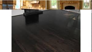 flooring oak stained with mahogany and walnut border