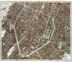 map brussels map of brussels brussel bruxelles in 1900 buy vintage map