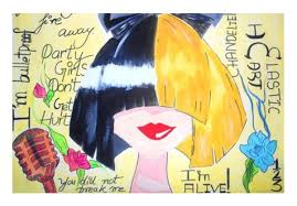 Sia Chandelier Art Artwork Wall Art