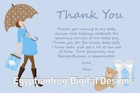 baby shower thank you notes thebridgesummit co