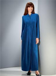 robe de chambre en velours femme robe de chambre femme zippe peignoir cocoon laurence