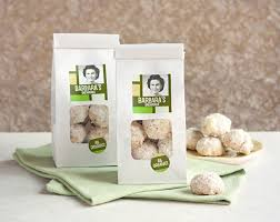 holiday recipe snowball cookies gift u0026 favor ideas from evermine