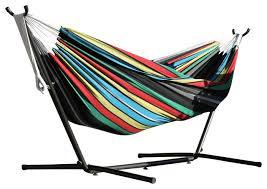 vivere ltd vivere u0027s combo double rio night hammock with stand