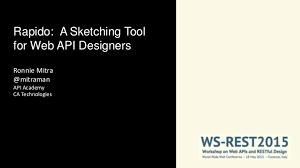 sketching web apis