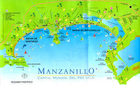 Mexico Maps Map Of Manzanillo Mexico Colima Mexico Pinterest Mexico
