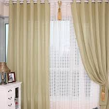 Sale Ready Made Curtains Stylish Pure Linen And Cotton Ready Made Curtains Buy Camel