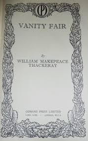 Vanity Fair William Makepeace Thackeray Birds Trees U0026 Flowers Illustrated Brian Vesey Fitzgerald