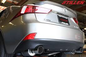 lexus is 250 muffler new product stillen is350 exhaust is250 exhaust axle back