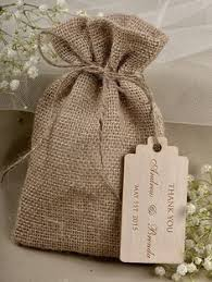burlap favor bags top five rustic wedding must haves giveaway drawstring pouch