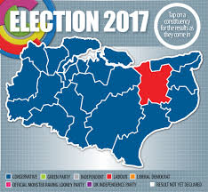 Uk Election Map by Kent General Election Results