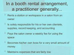 Booth Rental Agreement 8 Download The Salon Business Ch Ppt Video Online Download