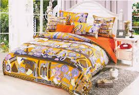 Versace Comforter Sets Colorful King Size Versace Bedding Silk Design Bedroom