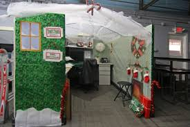 christmas decoration ideas for office cubicles