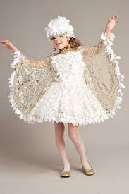 snow owl costume for girls chasing fireflies