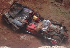 corvette museum collapse the 6th corvette is out of the sinkhole and it s the most severely