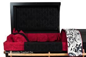 black casket the reaper northwoods casket company