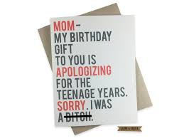 humorous birthday cards birthday card for sorry apology