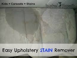 Easy Upholstery Easy Car Upholstery Stain Remover Inspired Housewife