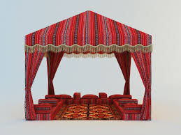 arabian tents tent arabic 3d model